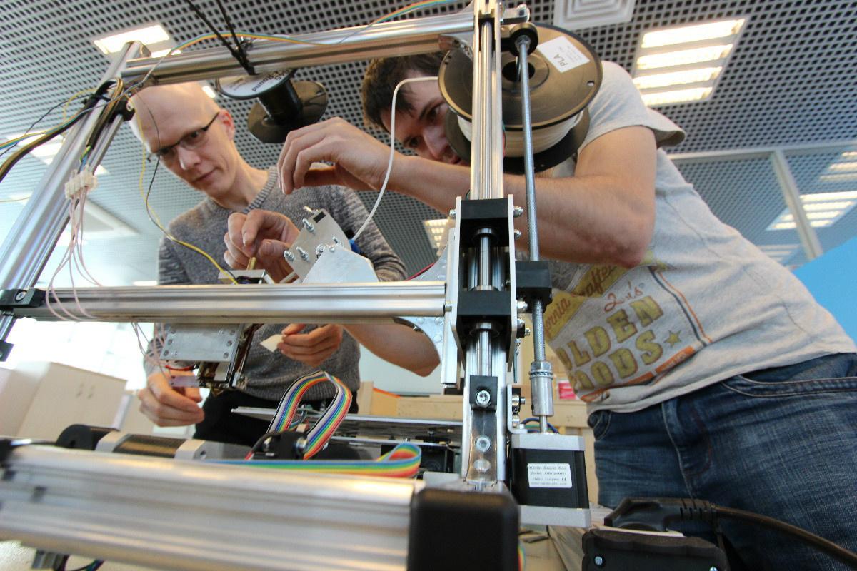 В инновационном центре «Сколково» создали самый лучший 3D-принтер для композитов