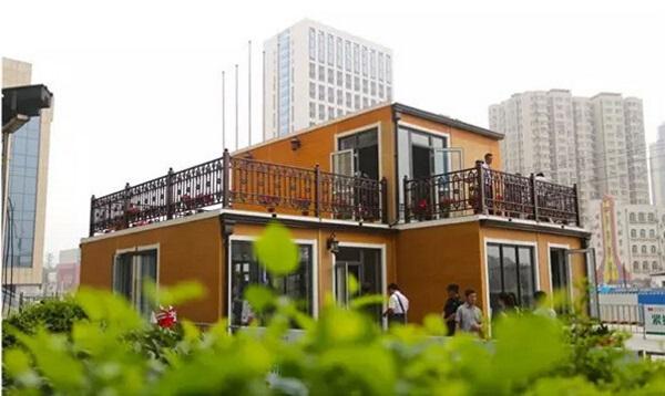 В Китае за 3 часа с помощью 3D-принтера построили двухэтажный дом