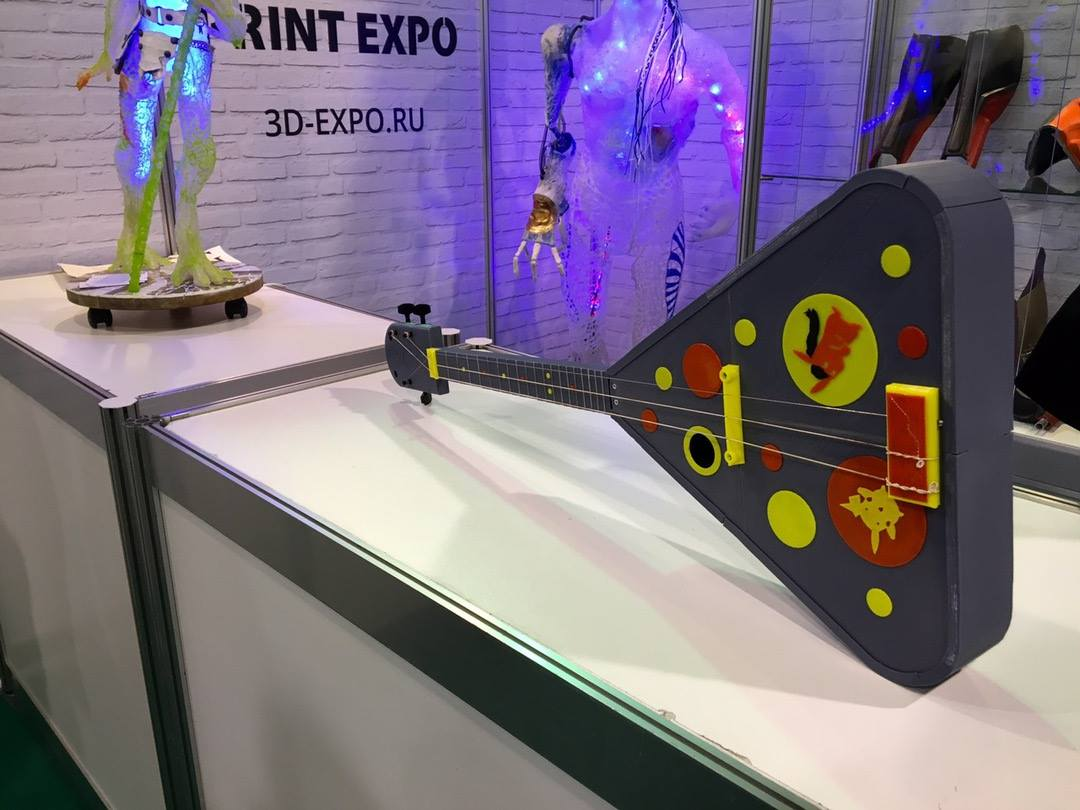 В КВЦ «Сокольники» стартовала 3D Print Expo 2016!