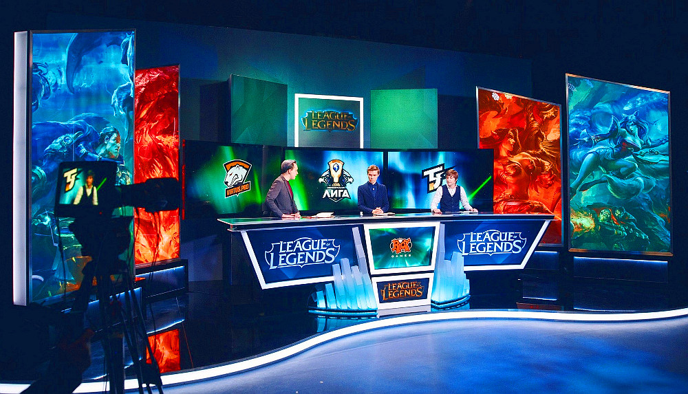Television studio for streaming League of Legends matches was opened in the Moscow region