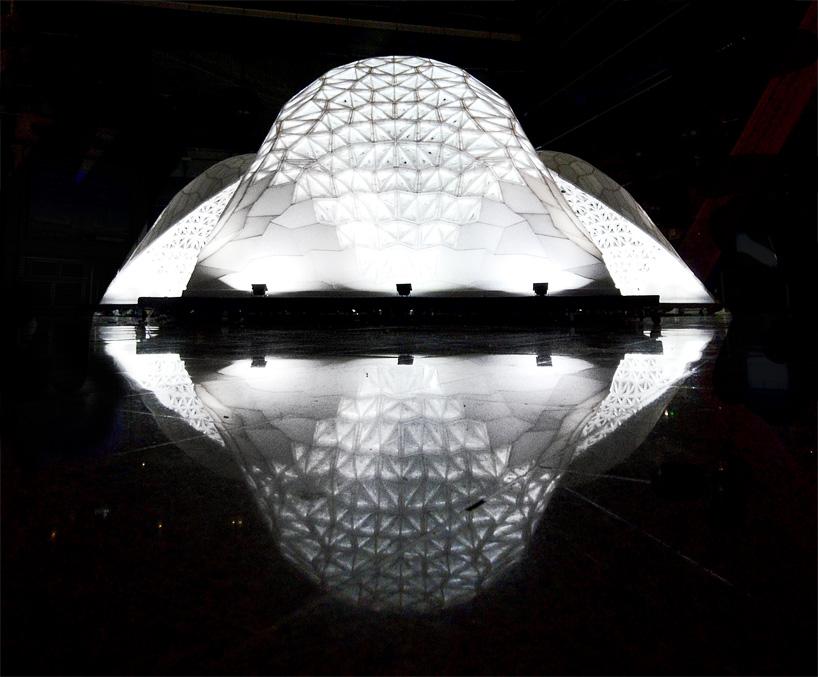 В Пекине появилась крупнейшая в мире конструкция, построенная с помощью 3D-печати