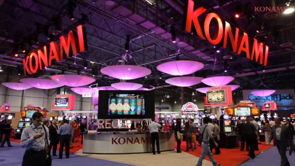 В рамках выставки G2E 2014 компания Konami представит более 100 игр