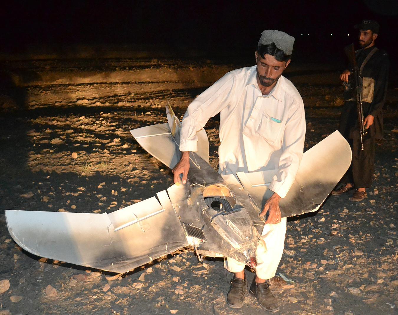 В Сомали потерпел крушение таинственный беспилотник-птица