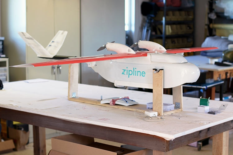 В США дроны будут использоваться для доставки донорской крови