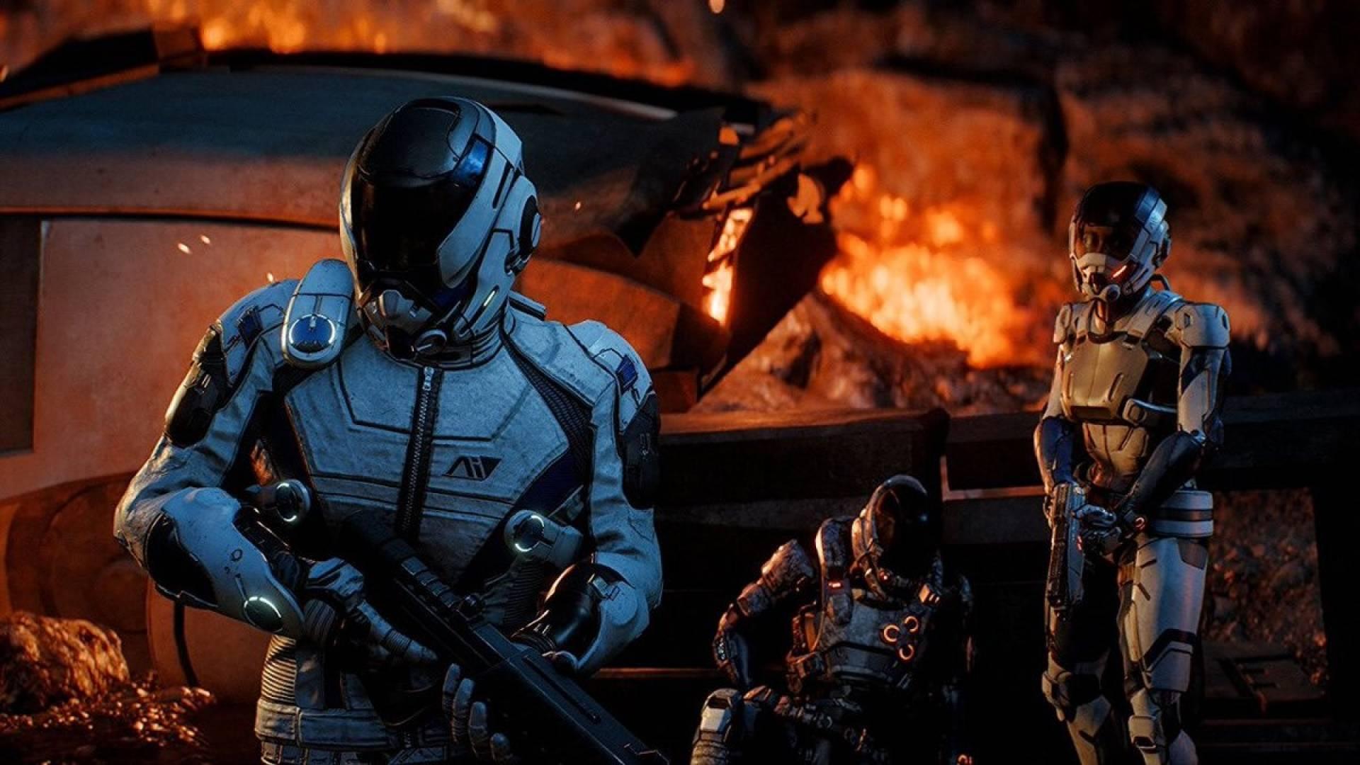 Важливі та просто цікаві новини про рольового шутера Mass Effect: Andromeda