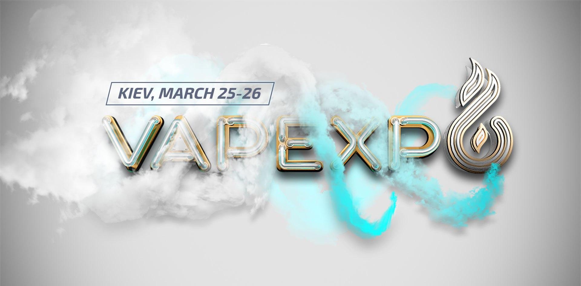 VAPE-MANIA IN THE CITY. The First Ukrainian vape-shindig VAPEXPO, Kiev, March 25-26, 2016!