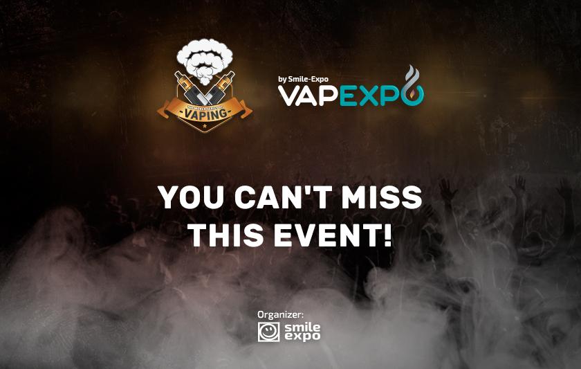 VAPEXPO Kiev 2017: cloud chasing, Vape Verdict, and giveaway e-liquids!