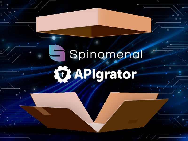Topline Online Casino Software Developer Spinomenal joined APIgrator