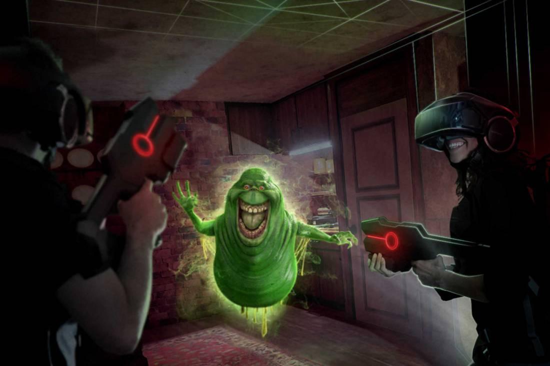 Виртуальная реальность сражается с привидениями