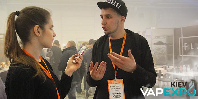 Виталий Неботов: «Главная задача – сделать наши жидкости лучшими на рынке»