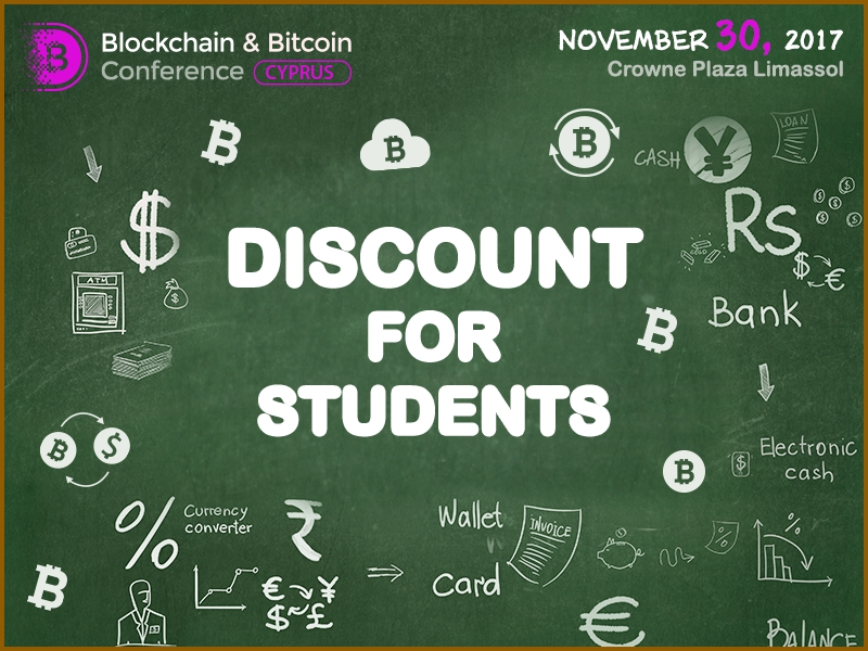 Vivat Academia! €100 instead of €400: discount on Blockchain & Bitcoin Conference Cyprus for students