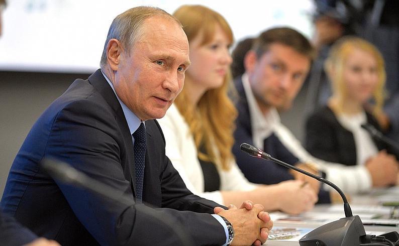 Владимир Путин: «Интернет вещей станет новой промышленной отраслью в России»