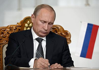 Владимир Путин подписал закон о продлении работы «Азова»