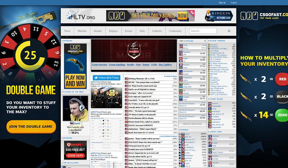 Восточноевропейские команды по CS:GO поднялись в рейтинге HLTV.org