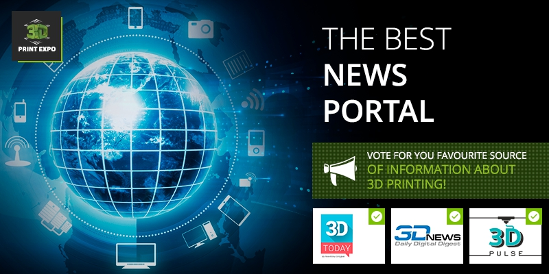 Vote for the best newsportal, contributing to 3D printing development