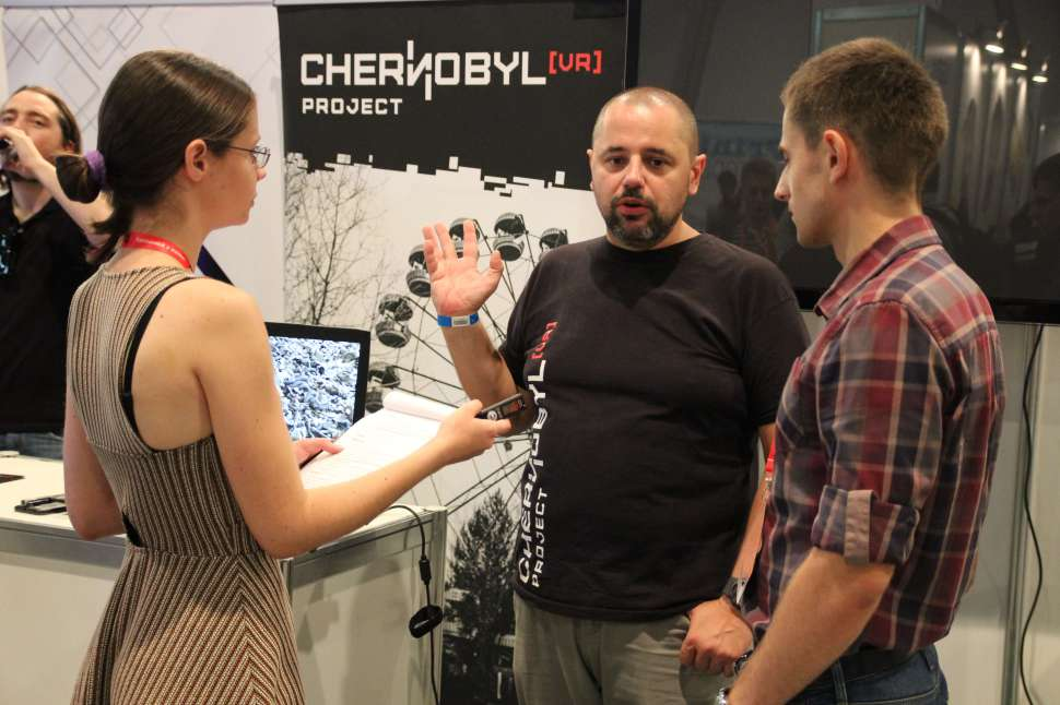 """Wojciech Pazdur: """"Chernobyl VR Project is the example of what can help in history classes in school"""""""