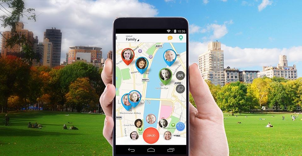 Все пользователи Family Locator будут видеть, где находятся их дети
