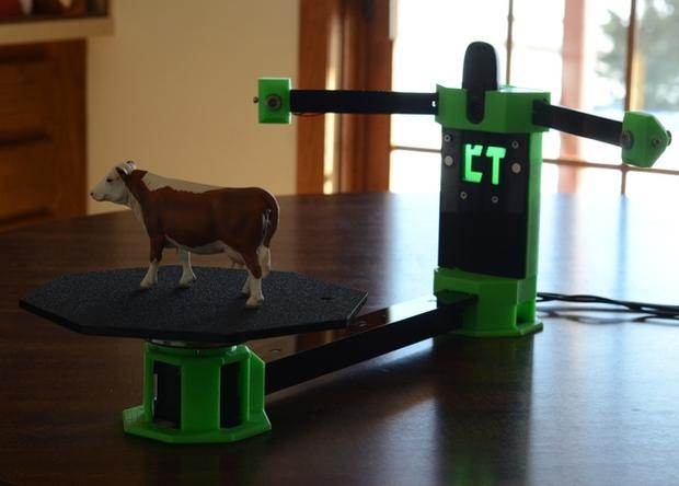 Встречайте 3D-печатный 3D-сканер