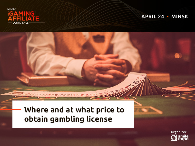 Where and at what price to obtain gambling license