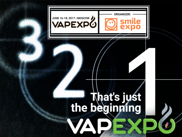Why does Moscow in vapor? It is VAPEXPO Moscow 2017!