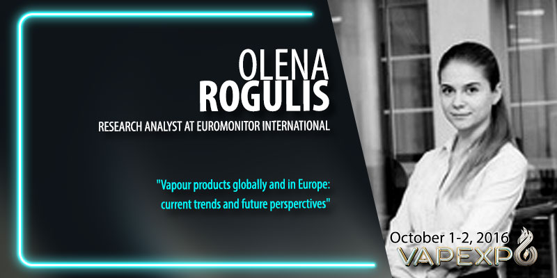 World vaping trends with Elena Rogulis