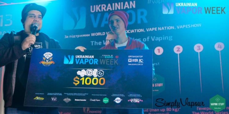 «Я відчув, що це справді класно» — інтерв'ю з переможцем The World Series of Vaping