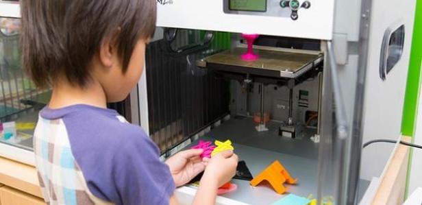 Японские дети с 6 лет будут изучать 3D-печать