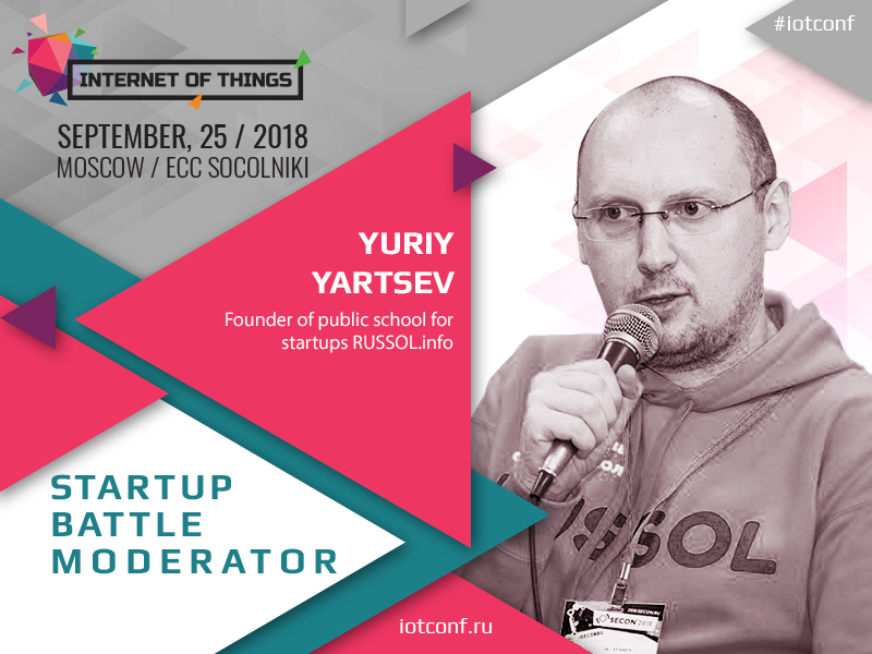 Yuriy Yartsev, RUSSOL.info online school founder, to moderate Startup Battle