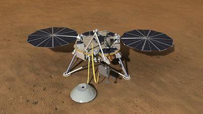 Запуск зонда InSight на Марс откладывается