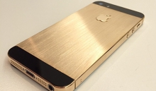 Золотой iPhone 5S изготовлен с помощью технологии 3D-печати