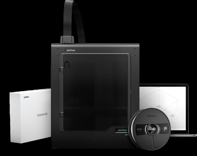 Zortrax создала 3D-принтер с большой рабочей камерой печати