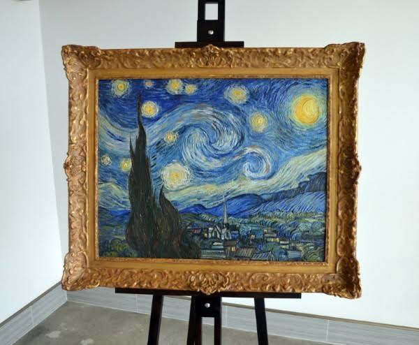 «Звездную ночь» Ван Гога воссоздали с помощью 3D-печати