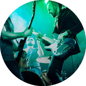 Живой концерт на 3D-печатных гитарах