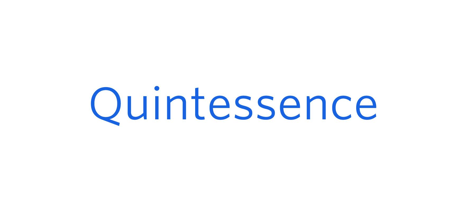 <Quintessence