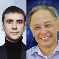 Андрей Шевченко и Захирджан Кучкаров