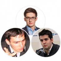 Dmitry Belyaev, Vladimir Belov, Jan Nepomnyashchii