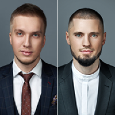 Artem Popov and Alik Arslanov
