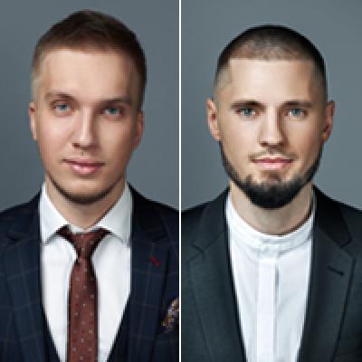 Артем Попов и Алик Арсланов
