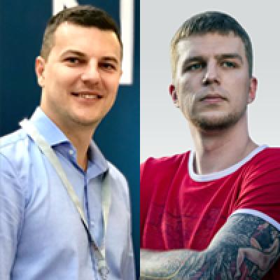 Иван Монтик и Андрей Корсак