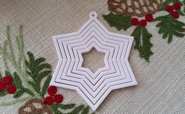 Идеи для новогоднего декора: 10 украшений, которые можно напечатать на 3D-принтере - 1