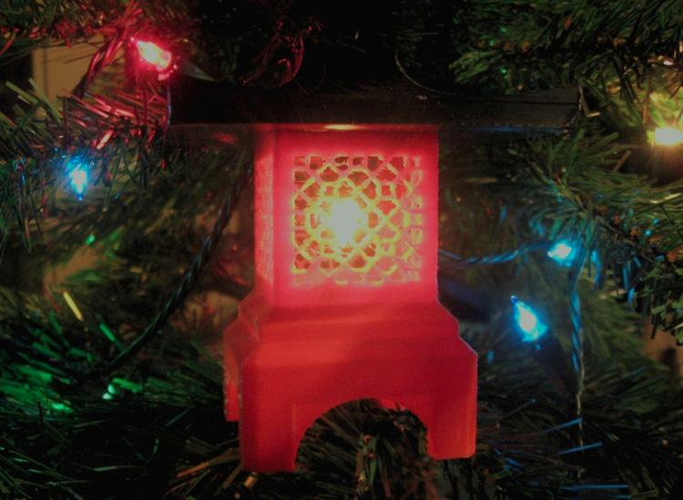 Идеи для новогоднего декора: 10 украшений, которые можно напечатать на 3D-принтере - 6