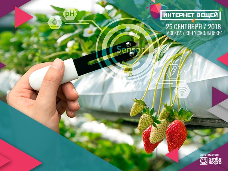 IoT Conference: Internet veschey protiv globalnogo goloda: kak IoT rabotaet v selskom hozyaystve 1