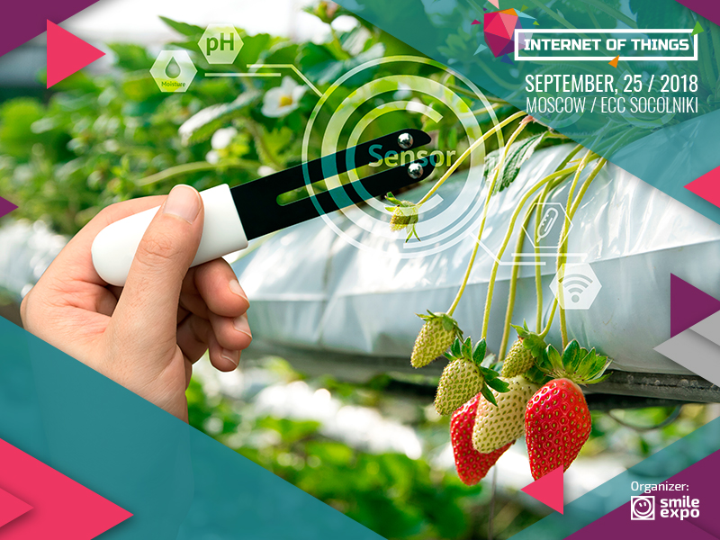 IoT Conference: Internet of Things against global hunger: IoT in agriculture 1