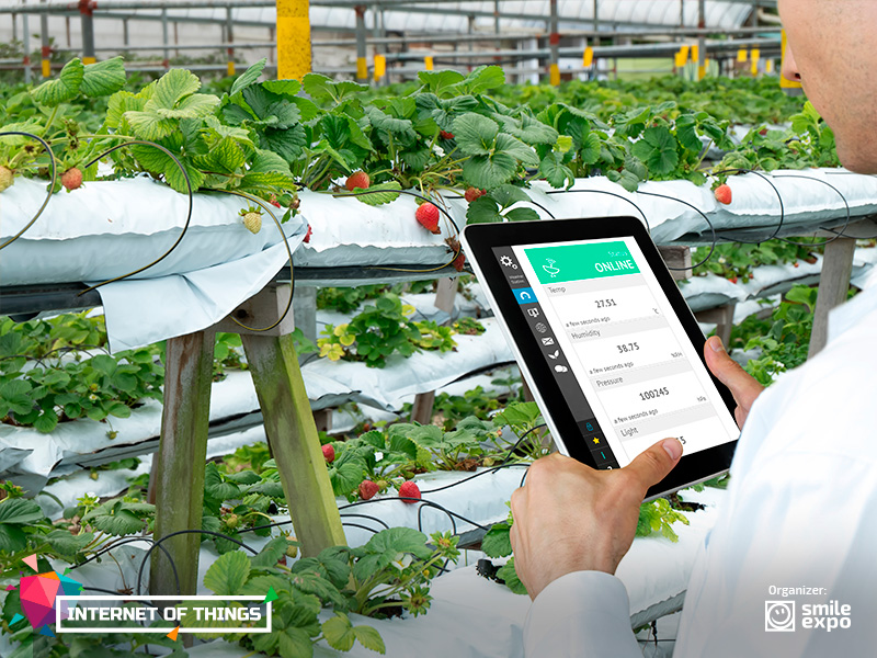 IoT Conference: Smart agriculture: How the latest technologies can be applied in the fields 1