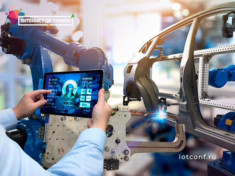 IoT Conference: Today's and tomorrow's manufacturing in the context of Industry 4.0 1