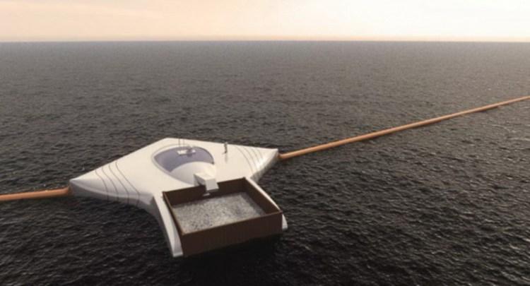 Мусоропровод для океана Иннотек