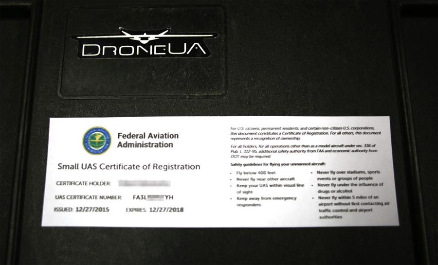 США зарегистрировали первый собранный в Украине дрон