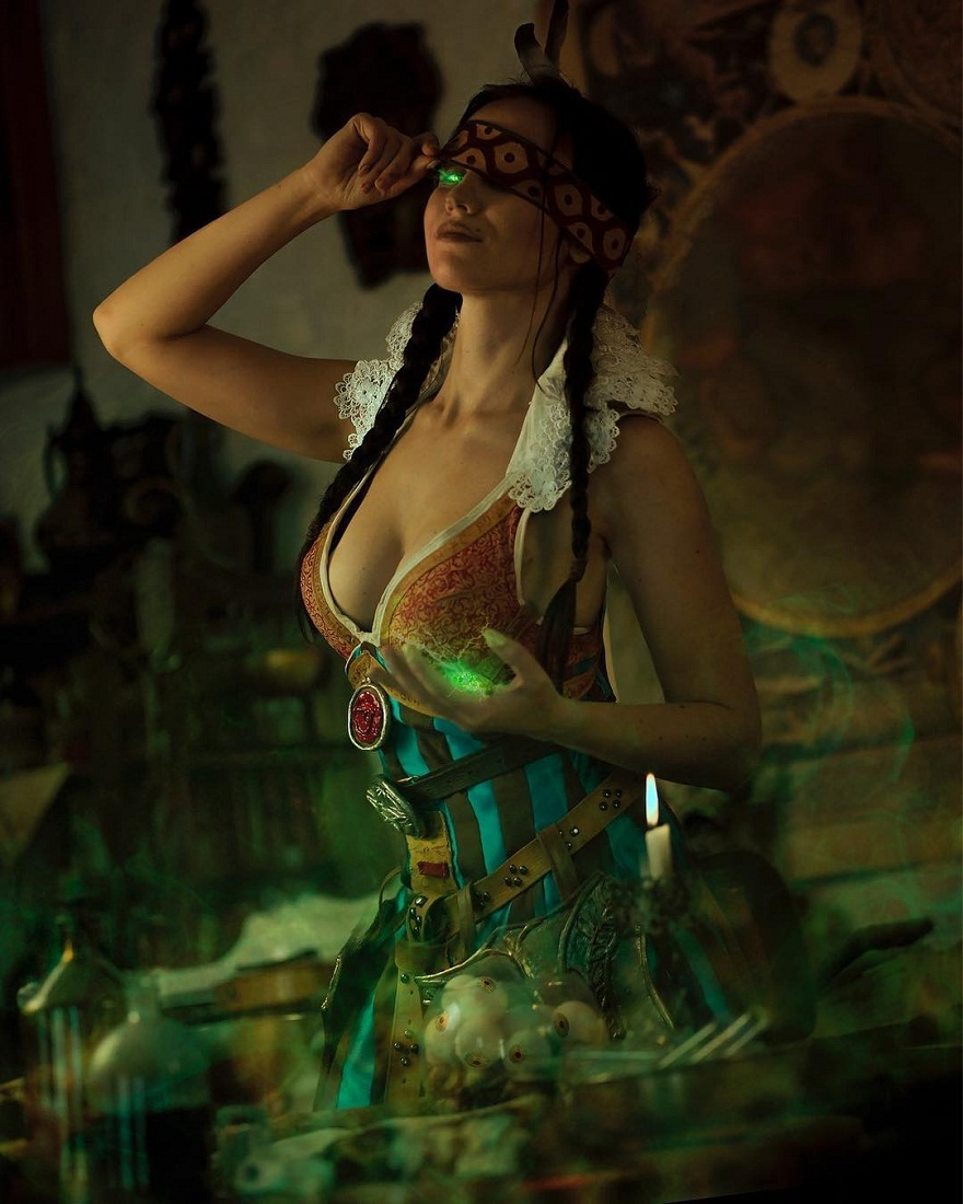 Geralt, Triss, Ciri, Yennefer, and others. Selection of the best cosplays of the Witcher - 10