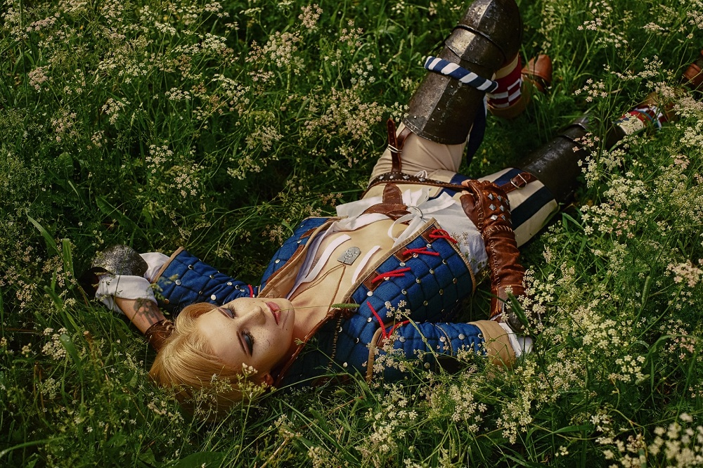 Geralt, Triss, Ciri, Yennefer, and others. Selection of the best cosplays of the Witcher - 13