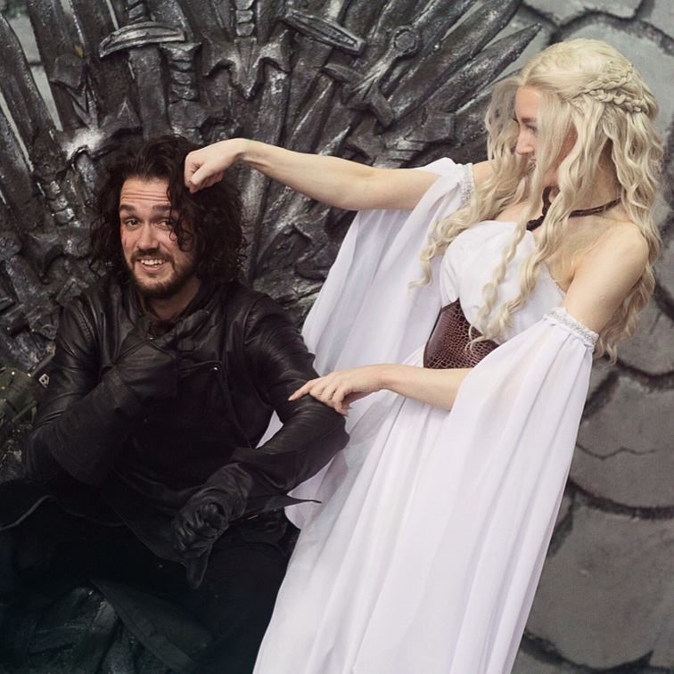 WEGAME. Enjoyable beginning of the week: quality Game of Thrones cosplays - 16